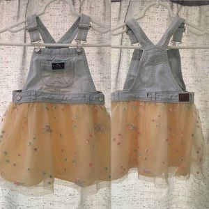 Girls Jordache overall dress